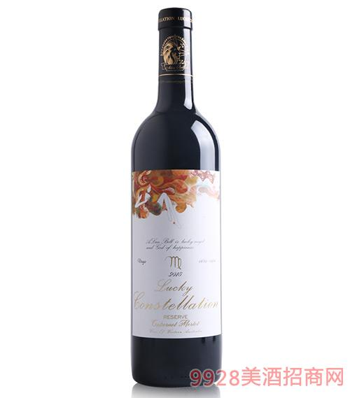 阿兰贝尔处女座葡萄酒14.5度750mll