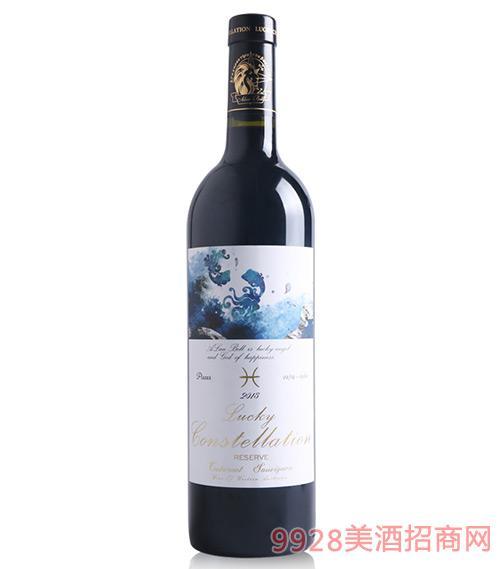 阿兰贝尔双鱼座葡萄酒14.5度750ml