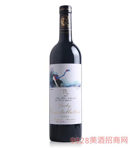阿兰贝尔天蝎座葡萄酒14.5度750ml