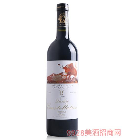 阿兰贝尔金牛座葡萄酒14.5度750ml