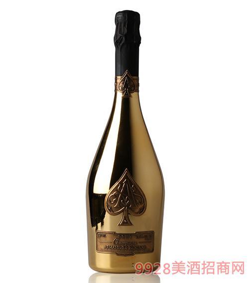 法国黑桃A香槟葡萄酒12.5度750ml