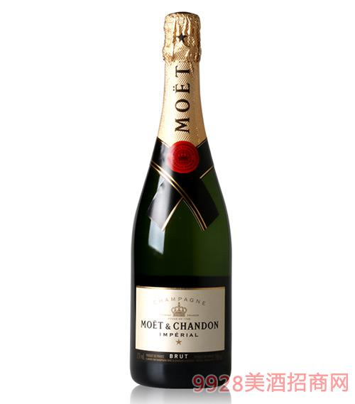 法国酩悦香槟葡萄酒12度750ml