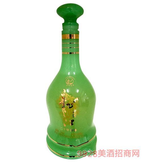 龙江老窖酒绿玉金樽20