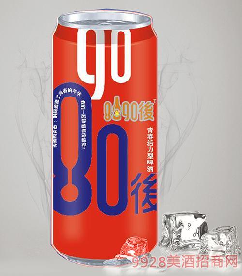 8090后青春活力啤酒蓝罐500ml招商_青岛未来酒业有限