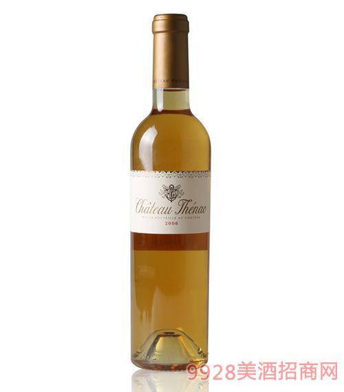 法国泰纳甜白葡萄酒750ml