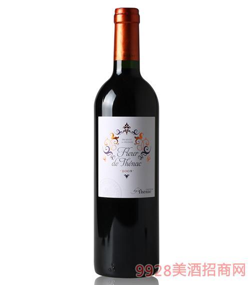 法国佩裹戈尔德之花红葡萄酒750ml