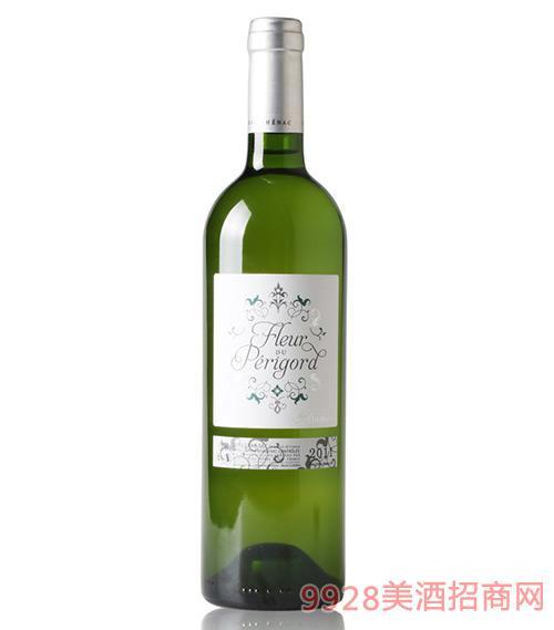 法国佩裹戈尔德之花白葡萄酒750ml