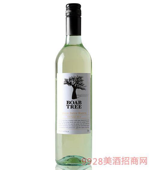 澳大利亚宝树白格雷克甜白葡萄酒7度750ml