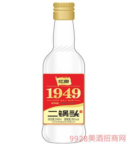 1949二锅头酒38度248ml