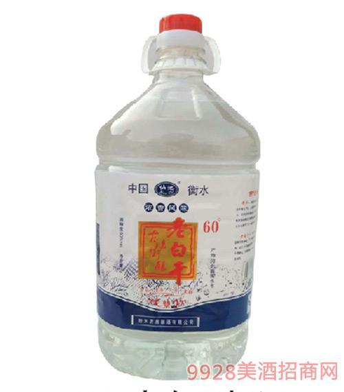 60度老白干桶装酒5Lx4