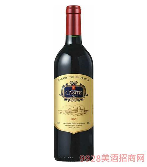 卡斯特传奇干红葡萄酒2011-13度750ml