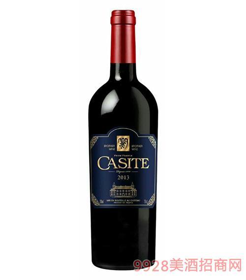 卡斯特传奇干红葡萄酒2013-13度750ml