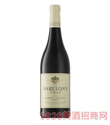 巴比倫赤霞珠·馬爾貝克干紅葡萄酒