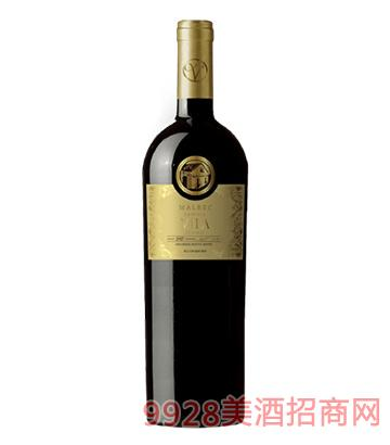 维拉金装马尔贝克家族特藏红葡萄酒
