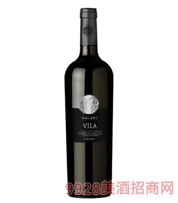维拉马尔贝克家族特级珍藏红葡萄酒