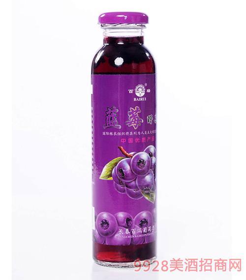 蓝莓果汁饮料