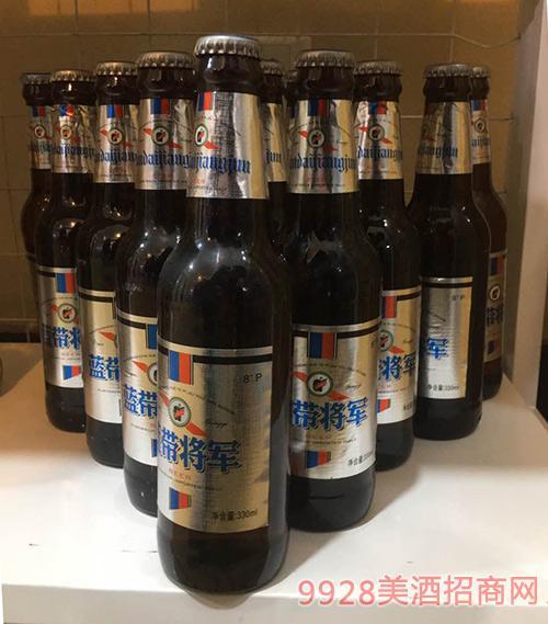 蓝带将军啤酒黑啤330ml瓶装