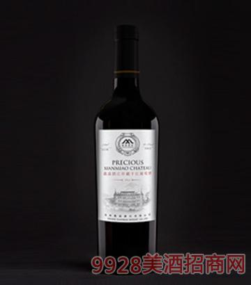 鱻淼庄园珍藏干红葡萄酒