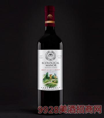 鱻淼生态庄园干红葡萄酒