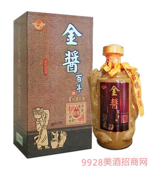 (金酱百年)银酱酒