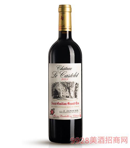 2008卡斯特罗城堡干红葡萄酒