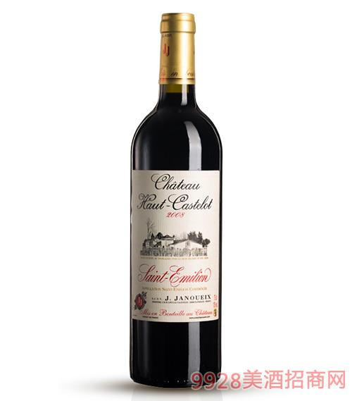 2008上卡斯特罗城堡干红葡萄酒