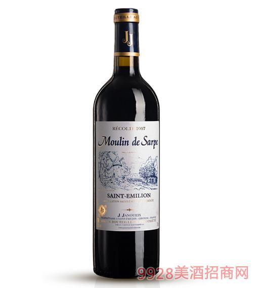 2007萨尔普风车城堡干红葡萄酒