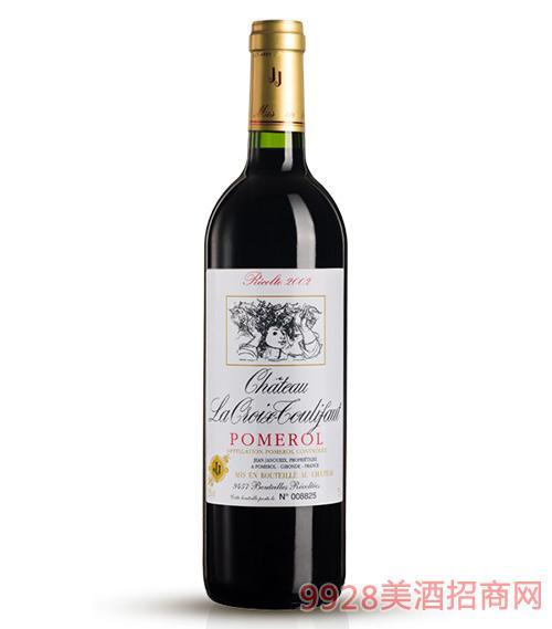 2002笃丽孚十字城堡干红葡萄酒
