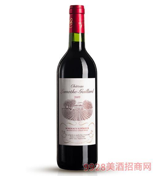 2009拉莫特盖雅干红葡萄酒
