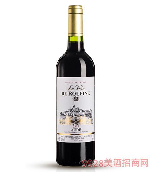 鲁比纳2014拉旺干红葡萄酒