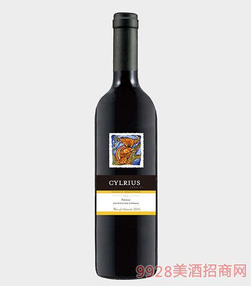 思域考拉西拉干红葡萄酒14.5度
