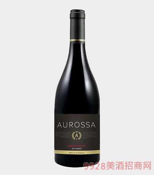 澳罗萨巴罗莎西拉干红葡萄酒