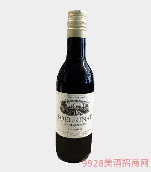 幸福城堡干红葡萄酒13度187ml