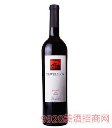 德威堡阿根廷馬貝克干紅葡萄酒