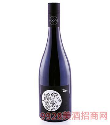 十二生肖西拉干红葡萄酒羊