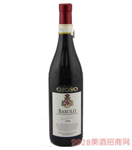 乔颂巴罗洛干红葡萄酒750ml