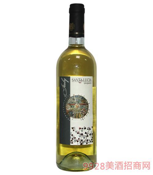 圣卢西亚白葡萄酒750ml