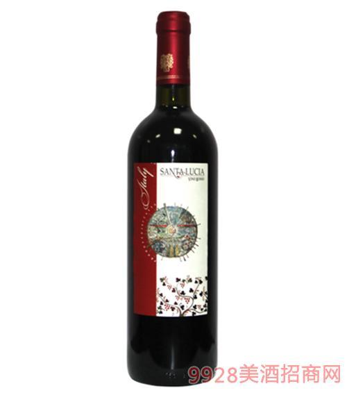 圣卢西亚红葡萄酒750ml
