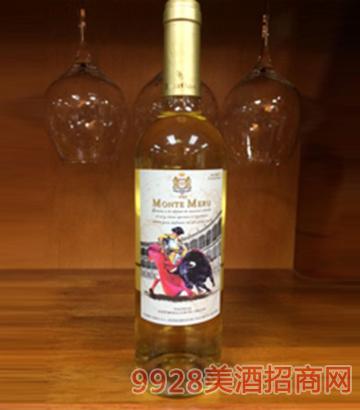 莫奈山斗牛士干白葡萄酒750ml