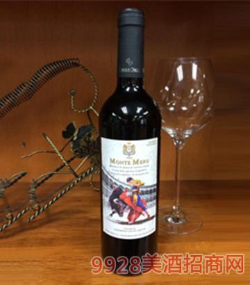 莫奈山斗牛士添帕尼尤干红葡萄酒750ml