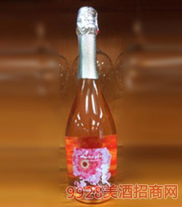 莫奈山桃红起泡葡萄酒750ml