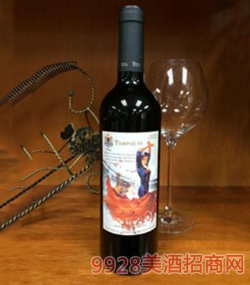 腾云舞者添帕尼尤干红葡萄酒750ml