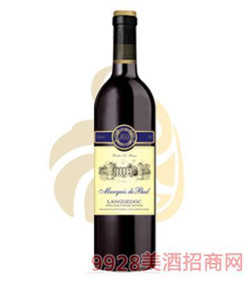 保罗侯爵朗格多克干红葡萄酒750ml