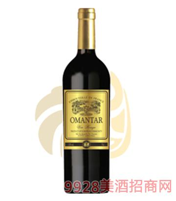 欧蒙特干红葡萄酒750ml