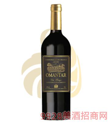 欧蒙特佳酿干红葡萄酒12度750ml