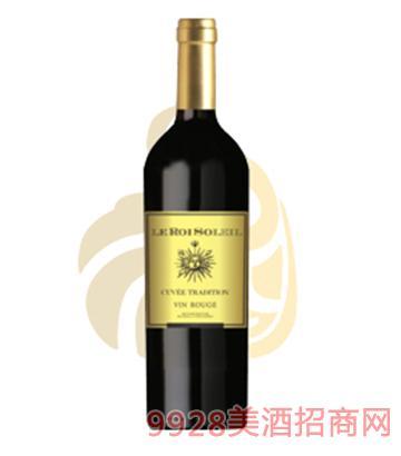 太阳王干红葡萄酒12度750ml