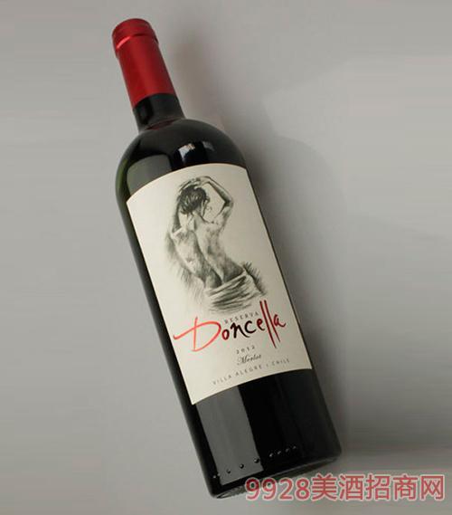 嬞希娅珍藏梅洛干红葡萄酒13.5度750Ml