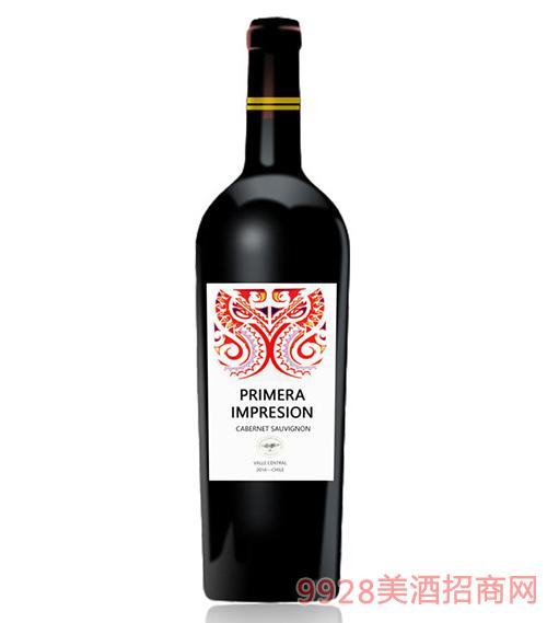 智利印象赤霞珠干红葡萄酒13.5度750Ml