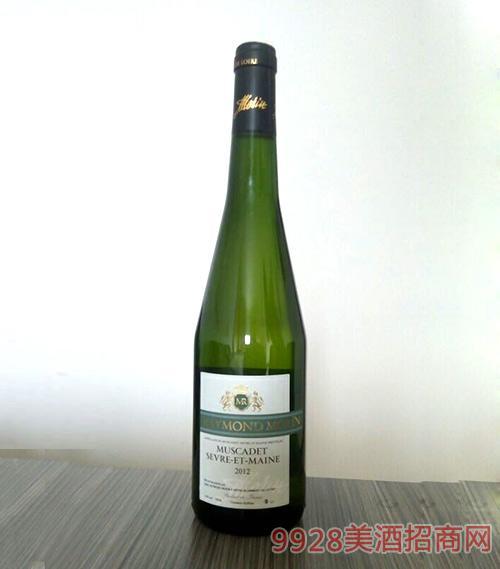 法国慕斯卡德干白葡萄酒
