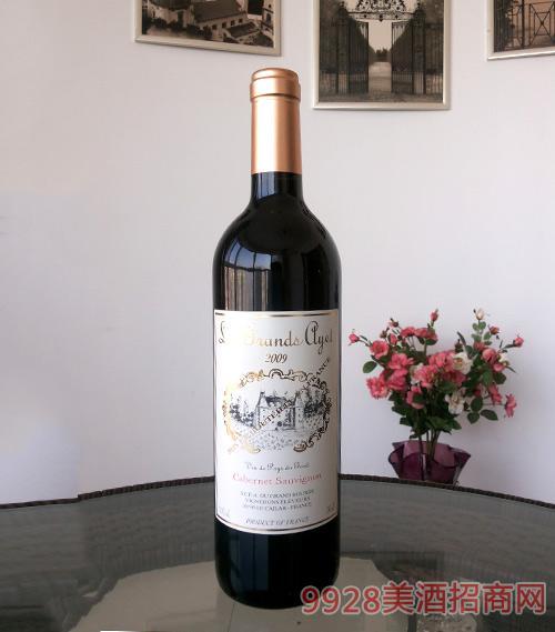 法国红宝石干红葡萄酒